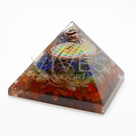Pirámide de Orgonita Árbol de la Vida
