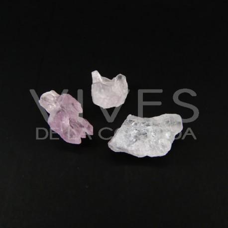 Cuarzo Rosa Cristalizado Calidad A (Pack 5gr)