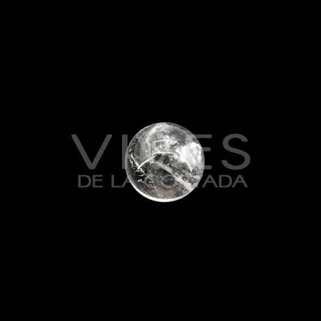 Esfera pequeña de Cuarzo Blanco 2cm