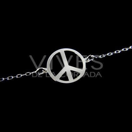 Pulsera de la Paz - Plata de Ley 925