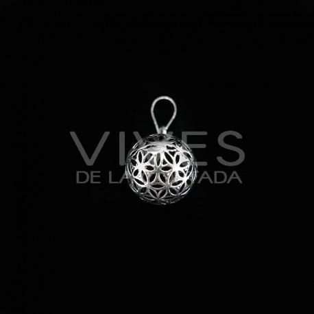 Colgante Llamador de Ángel Baño de Plata -C2-