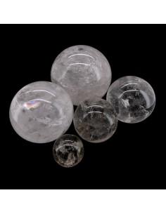 Esferas de Cuarzo Blanco (250gr)