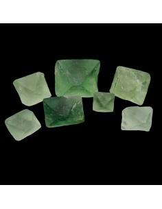 Octaedros Pequeños de Fluorita Verde (Pack 250gr)