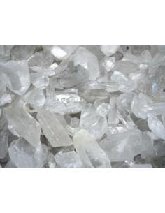 Puntas de Cuarzo Blanco en Bruto Calidad Extra (pack 500gr)