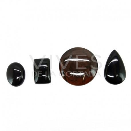 Cabujón de Obsidiana Variada (Pack 30gr)