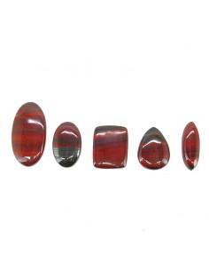 Cabujón de Jaspe Rojo Oscuro (Pack 30gr)