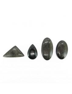 Cabujón de Obsidiana Plateada (Pack 30gr)