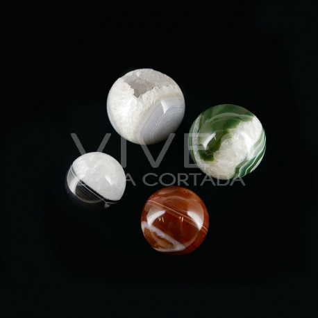 Esferas de Ágata Mix (500gr)