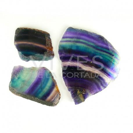 Placa de Fluorita Arco Iris pack 500gr