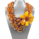 Amber Necklace (L41)