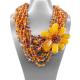 Collier ambre (L41)