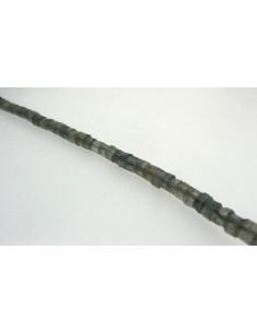 Hilo de Labradorita Cilindro Liso 4mm