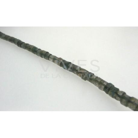 Labradorita cilindros 4mm
