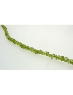 Hilo de Peridoto (Olivino) Facetado Regular 2mm
