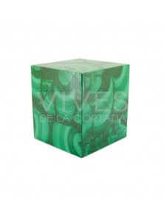 Cubo de Malaquita 7x7cm