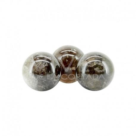 Esfera de Cuarzo Ahumado (Pack 1kg)