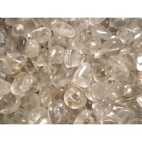 Rodados de Cuarzo Blanco natural pequeños Calidad Extra