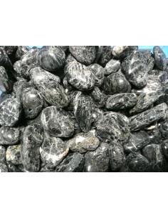Rodado turmalina negra (3x2cm aprox) pack 250gr