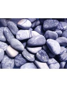 Rodados de Cuarzo Azul  3x2cm (pack 250gr)