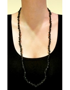 Collar Chip de Obsidiana