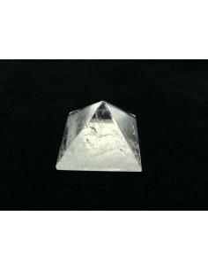 Pirámide de Cuarzo Blanco 3x3cm