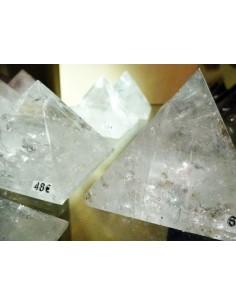 Pirámides de Cuarzo Blanco (pack 500gr)