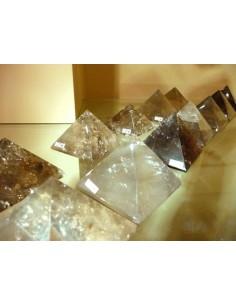 Pirámides de Cuarzo Ahumado (pack 500gr)