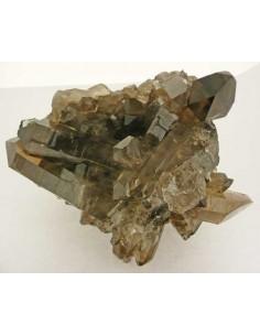 Drusa de Cuarzo Ahumado en Bruto Cristalizada (pack 500gr)