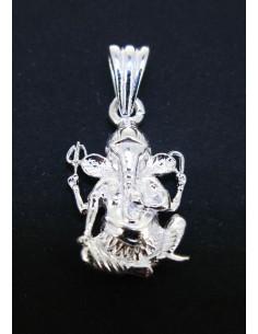 Colgante Ganesha - Baño de Plata
