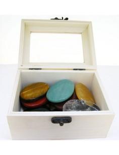 Caja para Mineral de Madera