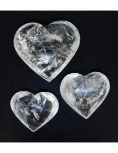 Corazón Pulido de Cuarzo (pack 250gr)