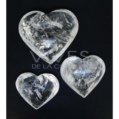 Corazón Tallado Cuarzo