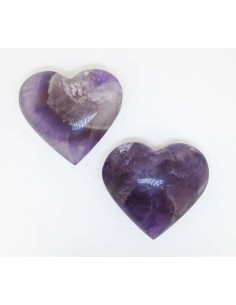 Corazón Pulido de Amatista (precio 250gr)