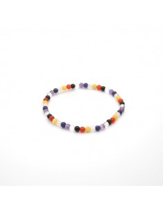 Pulsera Chakras Mix Bola Lisa 4mm -1-