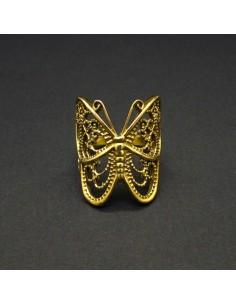 Anillo de Bronce Mariposa -2-