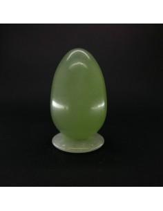 Huevo Grande de Jade con Agujero Calidad Extra