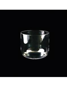 Cuenco de Cristal Cuarzo Transparente 25cm