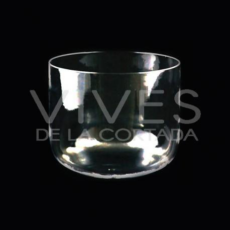 Cuenco de Cristal Cuarzo Transparente 30cm
