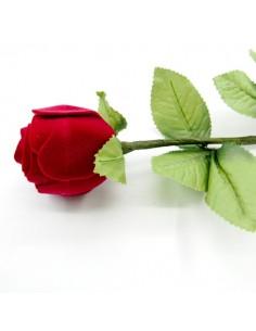 Caja para Joya con Forma de Rosa