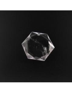 Forma Hexagonal de Cuarzo Blanco