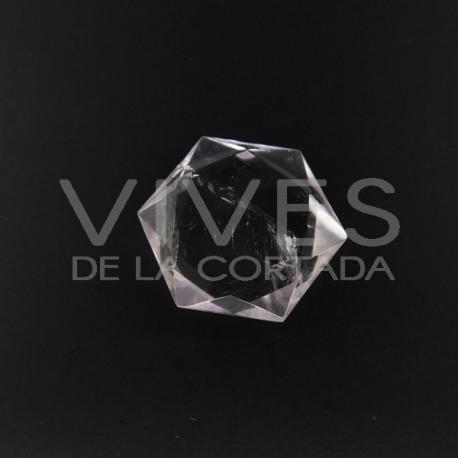 Estrellas Talladas en Cuarzo blanco (El precio es por peso 0.100Kg)