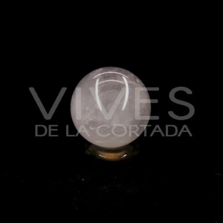 Esfera de Cuarzo Rosa Grande
