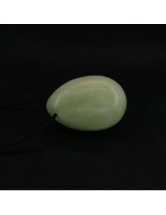 Huevo Grande de Jade con Agujero