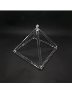"""Pirámide de Cuarzo Musical 6"""""""
