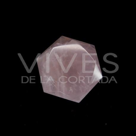 Estrellas Talladas de Cuarzo Rosa (pack 100gr)