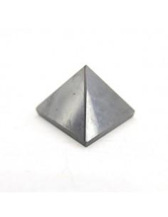 Pirámide de Shungit Pequeña Pulida 2,5x2,5cm