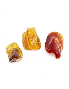 Colgantes Semipulidos de Ámbar (pack 10gr)