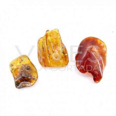 Colgantes Semipulidos de Ámbar (10gr)
