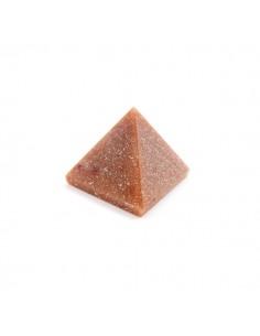 Pirámide de Jaspe Marrón 3x3cm
