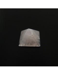 Pirámide de Cuarzo Rosa 2,5x2,5cm